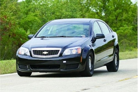 Chevrolet Caprice PPV. Photo: Michigan State Police