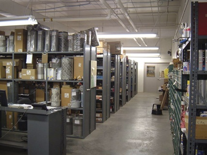 Planning facilities for modern and future use article for Parts room organization
