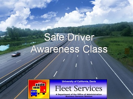 More campus employees have been taking the Web-based version of UC Davis' driver safety training program than the previous classroom-based course.