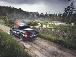 Ford's F-150 Police Responder Offers Pursuit Performance