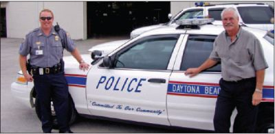 In addition to improved response rates, maintenance costs are reduced as part of a take-home vehicle program said Daytona Beach, Fla., Police Department Fleet Manager Jon Crull (right).