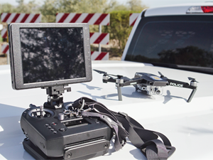 <p>Drones are useful for searches, reconnaisance, photographing crime scenes, and limited surveillance. <em>Photo: Michael Hamann</em></p>