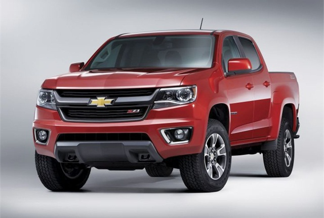 chevrolet re enters mid size pickup market with colorado article government fleet. Black Bedroom Furniture Sets. Home Design Ideas