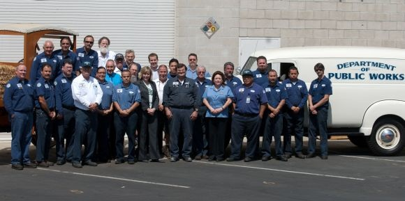 The City of Anaheim, Calif., fleet became certified in June, becoming more efficient and reducing costs for taxpayers. Photo courtesy of the City of Anaheim.