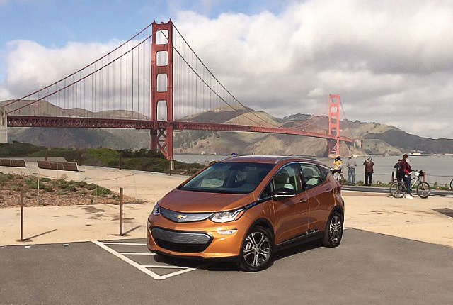 Chevrolet is rolling out the Bolt EV in waves, starting with California and Oregon. Photo: Paul Clinton