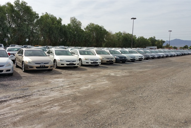 Clark County, Nev., auctions off its own vehicles as well as those of other local and state agencies. Photo courtesy of Clark County