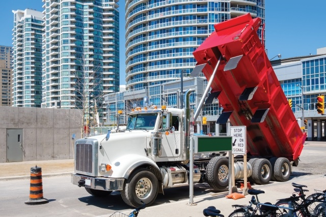 One consequence to under-spec'ing is it may require multiple trips due to limited payload capacity and may cause situations where the truck is overloaded. the truck. (Photo: iStockPhoto.com)