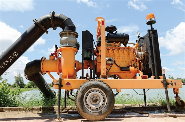 Diesel fuel stored for long periods in a pump, such as the one pictured, may degrade or become contaminated. Photo: Shutterstock