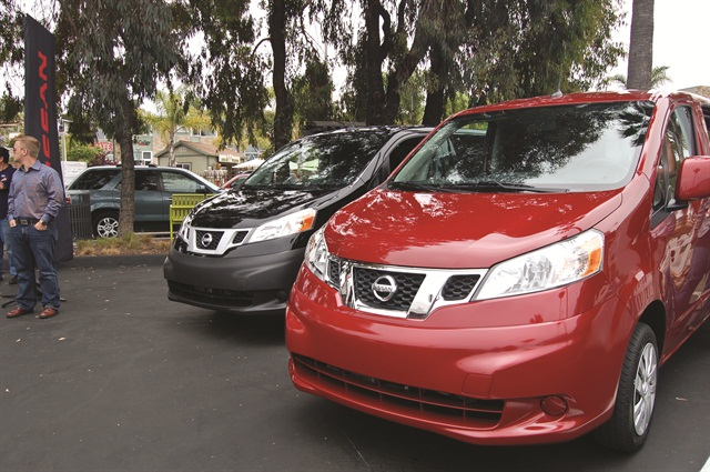 The all-new 2013 Nissan NV200 is ushering in a new era of fuel-efficient and versatile small cargo vans.