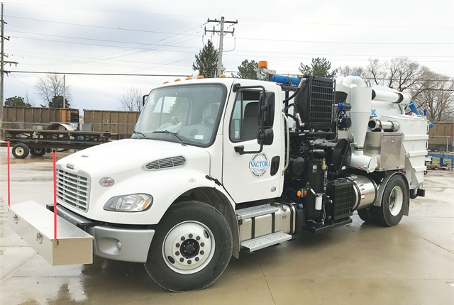 The Vactor HXX Paradigm vacuum excavator is now available in an air-only version. Photo courtesy of Vactor