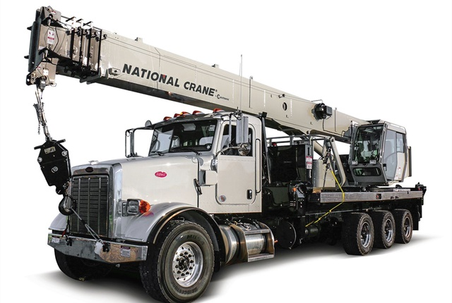 The National Crane NBT40-1 Series is designed to improve fleet utilization and providemore versatility in utility work, according to manufacturerManitowoc. Photo courtesy of Manitowoc