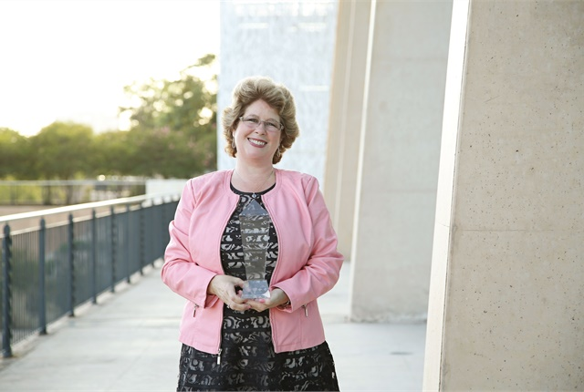 Mary Joyce Ivers, CPFP, credits her fleet team and industry mentors for her success. Photo: Natalia King