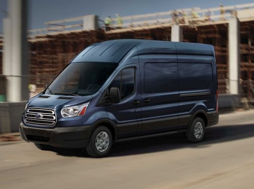 The Ford Transit is available with 64 configurations, including a chassis cab and cutaway body version. (PHOTO: FORD)