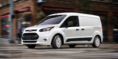 Offered in two wheelbases and two series levels, the Ford Transit Connect can tow as much as 2,000 pounds when properly equipped. (PHOTO: FORD)