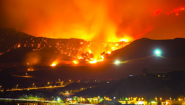The group of wildfires that hit Northern California in October 2017 is considered the costliest group of wildfires in U.S. history in terms of insured loss. Photo: Getty Images