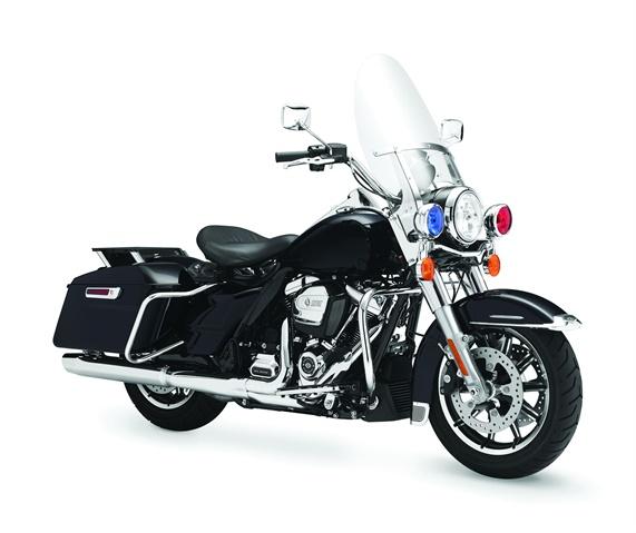 FLHP Road King. Photo courtesy of Harley-Davidson.