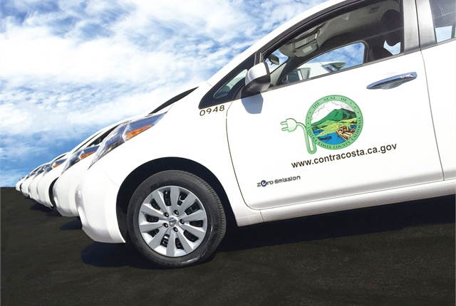Contra Costa County, Calif., offers a variety ofgasoline, electrified, and natural gas vehicles. Photo courtesy of Contra Costa County.