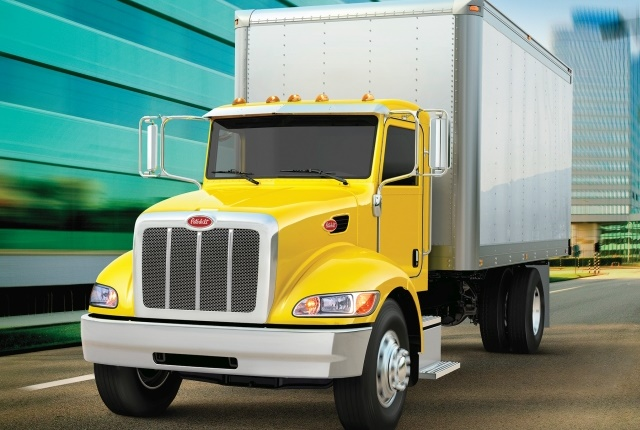 Peterbilt now offers Bendix Wingman Fusion safety system optional. (Photo courtesy of Peterbilt)