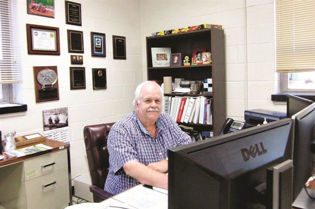 Randy Paschal worked on school buses for years before becoming the fleet maintenance superintendent of the City of Sanford, N.C. Photo courtesy of City of Stanford