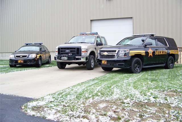 The Lorain County Sheriff's Office in Ohio is installing new modems and antennas as well as Wi-Fi capability that will allow fleet management to track vehicles. Photo courtesy of Lorain County Sheriff's Office