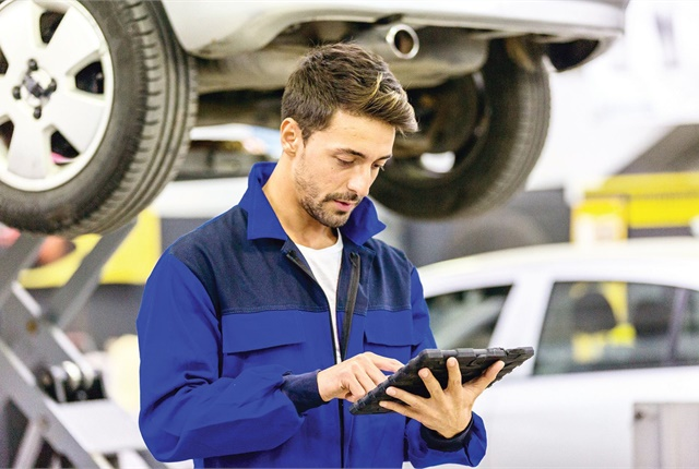 Upgrading to a new fleet management system involves training technicians on how to input data into the software. Photo: istockphoto.com