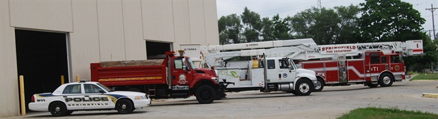 The City of Springfield, Ill., is in the process of consolidating the Police, Public Works, Fire, and City Water, Light & Power fleets to one facility.