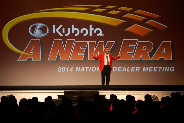 Todd Stucke, Kubota vice president, agriculture and turf division, said the company added three product marketing directors to guide product development and support. Photo courtesy of Kubota
