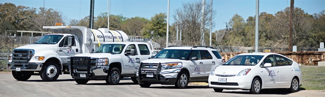 In the past few years, the Texas DOT has restructured its fleet program, right-sized inventory to about 12,500 vehicles, and launched programs for continuous improvement. Photo courtesy of Texas DOT