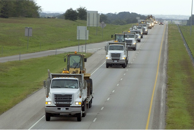 When it began its Fleet Forward program, the Texas Department of Transportation (TxDOT) had 16,000 vehicles and pieces of equipment. It has identified 4,000 vehicles to sell. Photo courtesy of Michael Amador/TXDOT