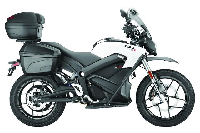 The DSRP is Zero's most popular police model. Photo courtesy of Zero Motorcycles.