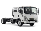 The Chevrolet Low Cab Forward will debut in seven models, ranging from Class 3-5. (Photo courtesy of Isuzu Commercial Truck of America)