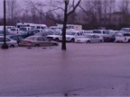 A January 19 flood damaged 160 state vehicles in Salem. Click on this image to see more photos of the flood. Photo courtesy of the State of Oregon DAS.