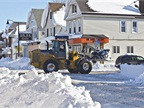 During the November 2014 snowstorm, the city enacted a driving ban so plows could get through. Photo courtesy of City of Buffalo
