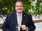 "Kelly Reagan, fleet administrator for the City of Columbus, Ohio, said he was ""shocked and humbled"" to be named the 2016 Public Sector Fleet Manager of the Year. Photo by Events Coverage Nashville"