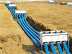 Analyze whether an above-ground or underground storage tank is best. Pictured is an OPW FlexWorks Loop System underground fuel delivery system.