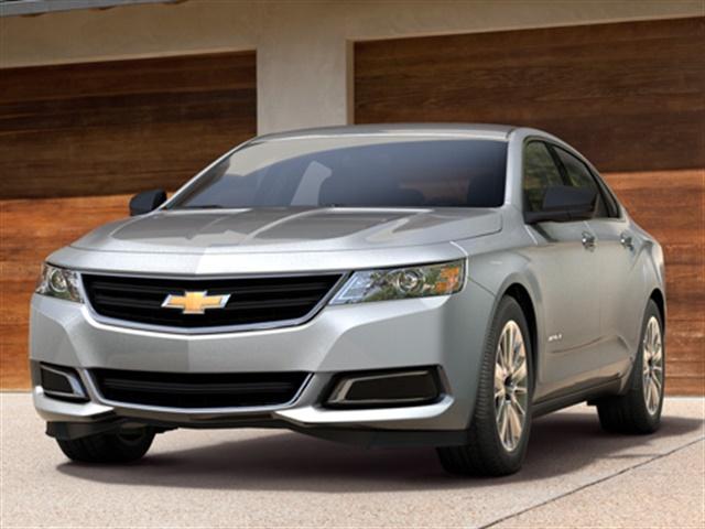 Photo of 2017 Chevrolet Impala courtesy of GM.
