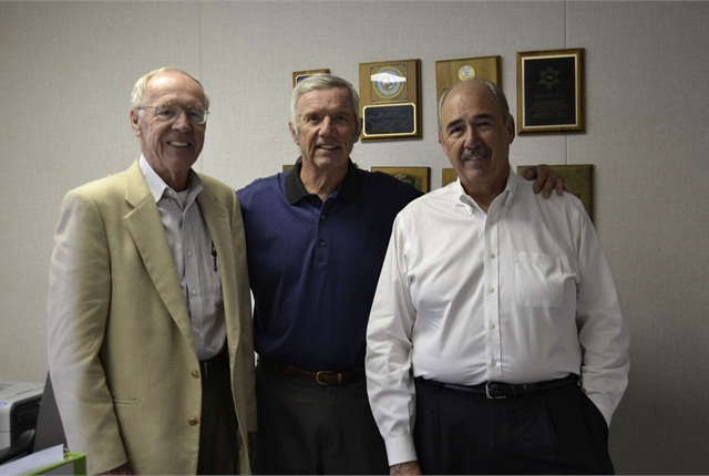 (L-R) Joe Connell, Clarke Cooper, and John Oviyach, fleet sales managers, make up part of the Wondries Fleet Group.