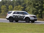 Photo of Michigan State Police vehicle testing courtesy of MSP.