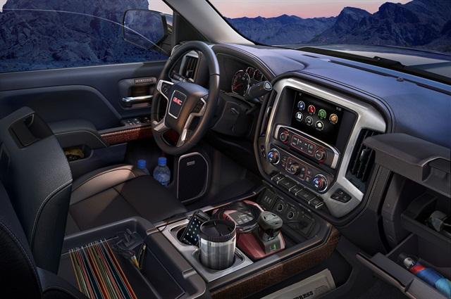 The all-new 2014 GMC Sierra.