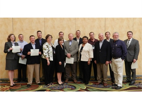 Fleet professionals from both the public and private sector accepted their Sustainability All-Star awards at the Green Fleet Conference.