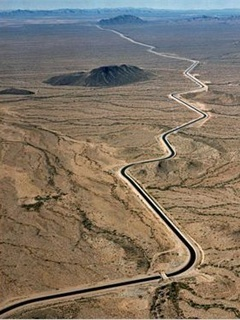 The Central Arizona Project is the largest diversion canal and aquaduct system ever constructed in the United States.