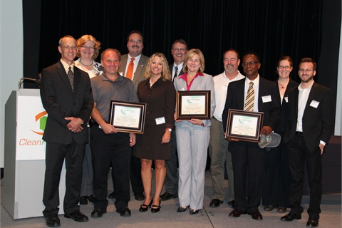 Clean Fuels Ohio recognized three divisions within the City of Columbus, Ohio, for their fleet-greening efforts.