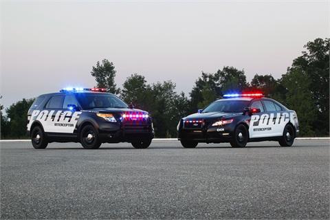 Ford's Police Interceptor Utility and Police Interceptor.