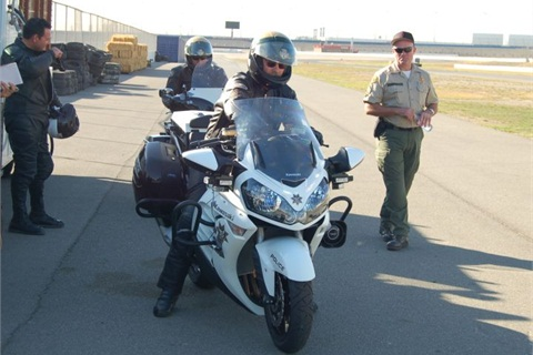 Photo by Paul Clinton. Photo from LASD 2011 testing.