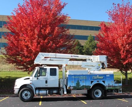 Choptank Electric Cooperative's plug-in hybrid work truck.