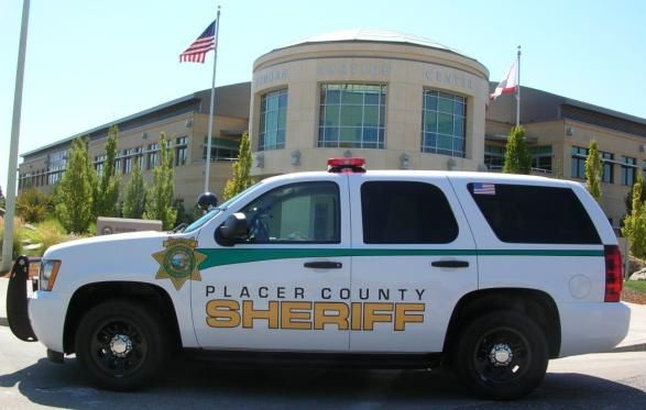 The new patrol SUVs sport a new striping and lettering package, with 3M reflective green stripe and reflective gold lettering. Photo courtesy of Placer County Sheriff's Office.