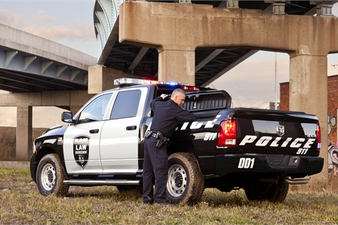 Ram 1500 Crew Cab 4x4 Special Service package. Photo courtesy Chrysler Group LLC.