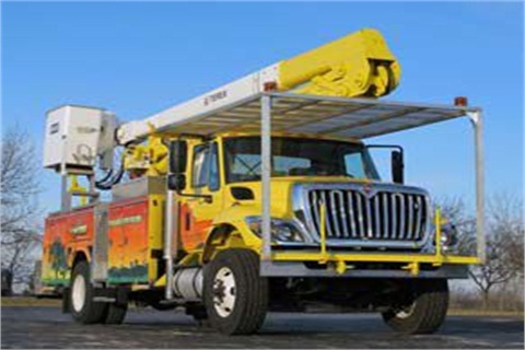 Pictured is a vehicle from the Richland Center unit of Wisconsin Public Power Inc.  Photo courtesy Odyne Systems.
