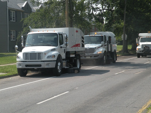 The City of Richmond s fleet consists of 2,622 units. Photo courtesy