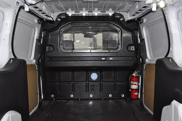 Gallery Photo Of A Composite Partition In A Ford Transit